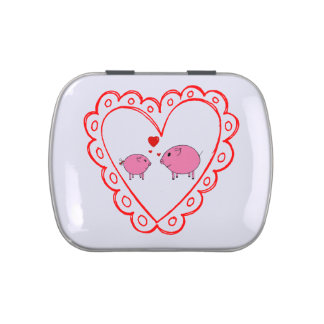 PiGgy in Love! Jelly Belly Candy Tin