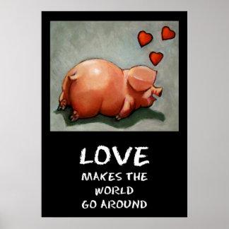 PIGGY LOVE POSTER