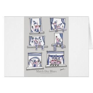 piggy matchday blues card