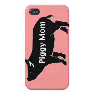 Piggy Mom Covers For iPhone 4
