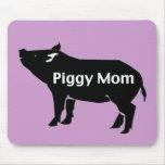 Piggy Mom Mouse Pad