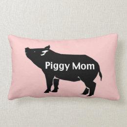 Piggy Mom Pillow