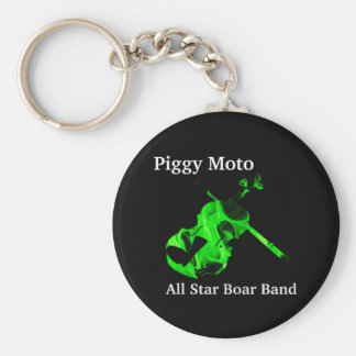 Piggy Moto Logo Keychain