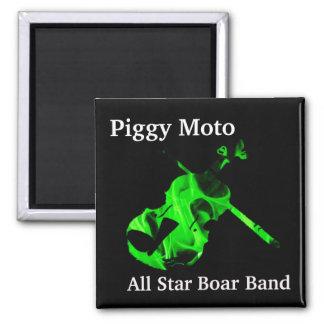 Piggy Moto Logo Magnet