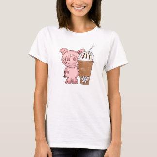 Piggy Needs Caffeine Women's T-Shirt
