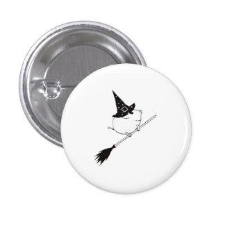 PiGgy on Halloween! Pinback Button
