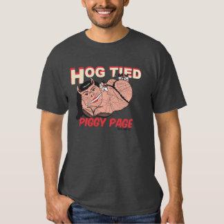 "Piggy Page ""Hog Tied"" tee"