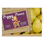 Piggy Pears Card