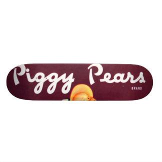 Piggy Pears Skateboard