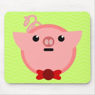 piggy pig mousepads