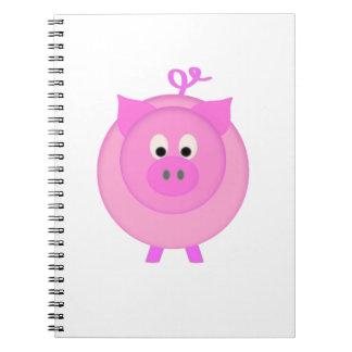 Piggy Pig Notebook