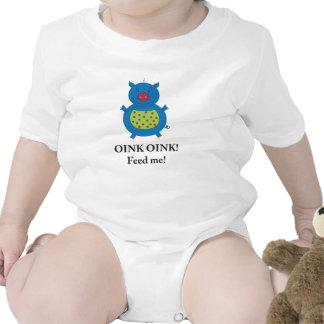 Piggy Pig shirt for baby boys