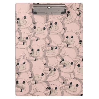 Piggy Pile Clipboard