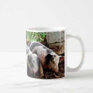 Piggy Pile Coffee Mug