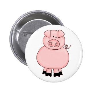 Piggy Pinback Button