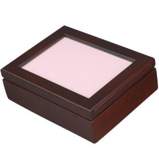 Piggy Pink Solid Color Keepsake Box
