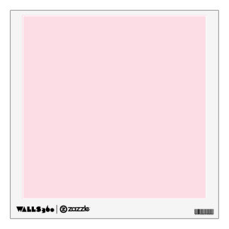 Piggy Pink Solid Color Room Stickers