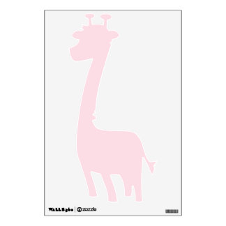 Piggy Pink Solid Color Wall Graphics