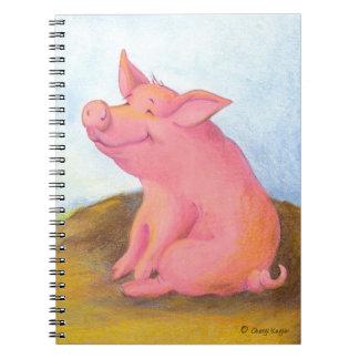 Piggy Pinkles / Notebook
