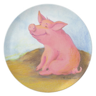 Piggy Pinkles/Plate Plates