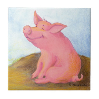 Piggy Pinkles/Tile Ceramic Tile