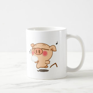 Piggy Pirouettes Coffee Mug