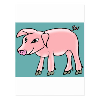 Piggy Post Card