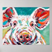 Piggy Poster