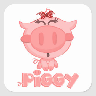 Piggy Sticker