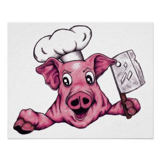 Piggy The Hamicidal Maniac Art Perfect Poster