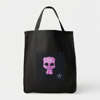 piggy tote bag