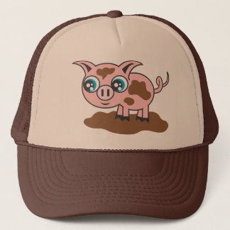 Piggy Trucker Hat