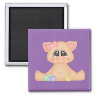 Piggy Valentine Love Magnet