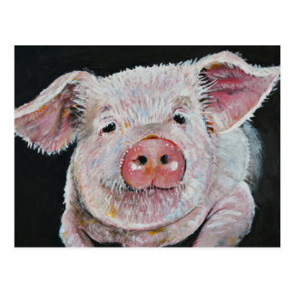 Piggy, Wiggy, Woo. Postcard
