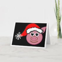 PIGGY WISHES YOU **MERRRRY CHRISTMAS** HOLIDAY CARD