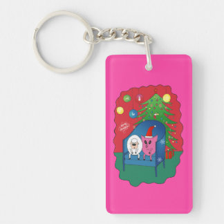 PiGgy with Sheepy! Keychain