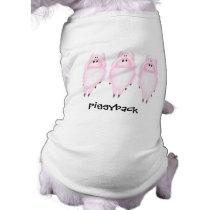 Piggyback Doggie T-Shirt