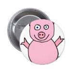 Piggylicious Pig the piggy Button