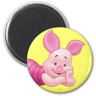 Piglet 1 2 inch round magnet