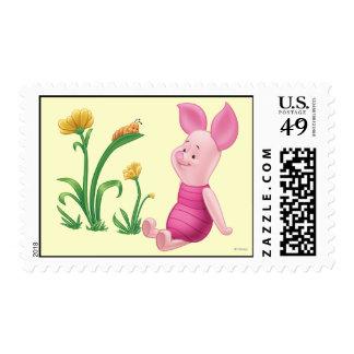 Piglet 2 postage stamps