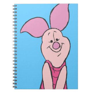 Piglet 3 spiral notebook