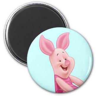 Piglet 4 2 inch round magnet