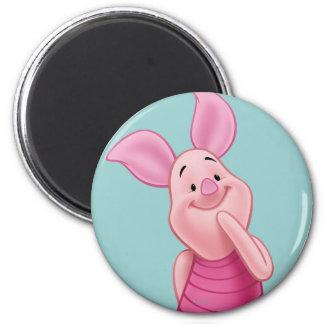 Piglet 5 2 inch round magnet