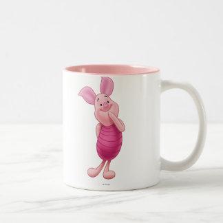 Piglet 5 Two-Tone coffee mug
