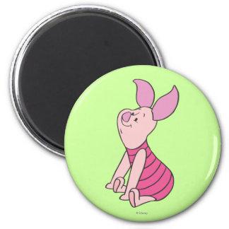 Piglet 6 2 inch round magnet