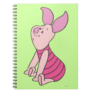 Piglet 6 spiral notebook