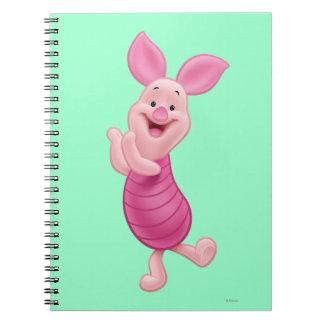 Piglet 7 spiral notebook
