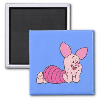 Piglet 8 2 inch square magnet