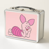 Piglet 8 metal lunch box