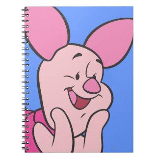Piglet 8 spiral notebook